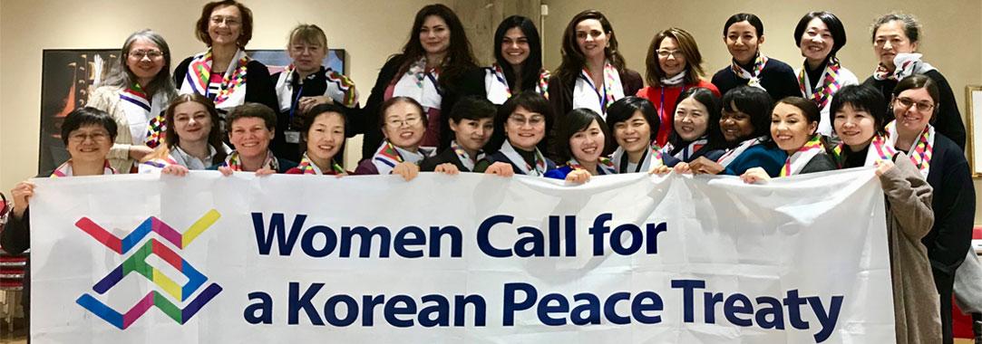 Women Call for a Korean Peace Treaty photo